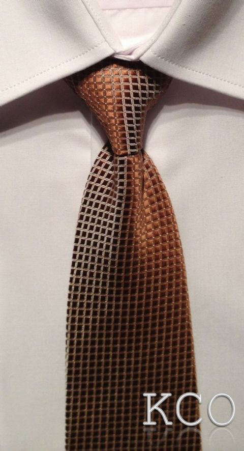 Long Tie~ Style 102 Brown